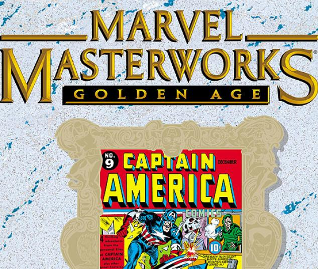 MARVEL MASTERWORKS: GOLDEN AGE CAPTAIN AMERICA VOL. 3 HC #0