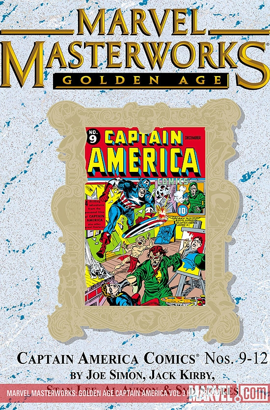 Marvel Masterworks: Golden Age Captain America Vol. 3 (Hardcover)