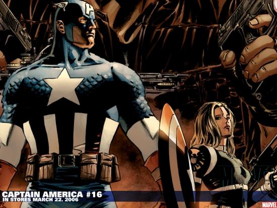 Captain America (1998) #16 Wallpaper