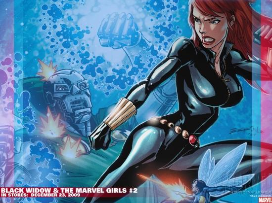 Black Widow & the Marvel Girls (2009) #2 Wallpaper