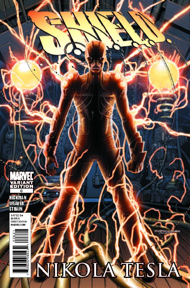 S.H.I.E.L.D. (2010) #6 (HISTORICAL VARIANT)