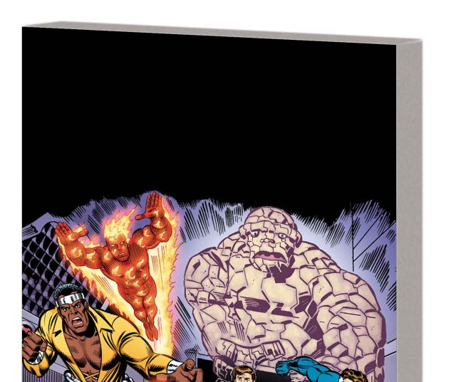 FANTASTIC FOUR: CRUSADERS & TITANS TPB