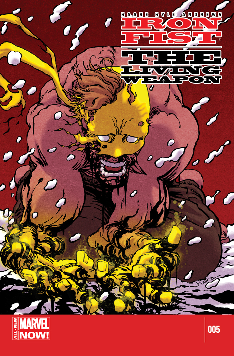 Iron Fist: The Living Weapon (2014) #5