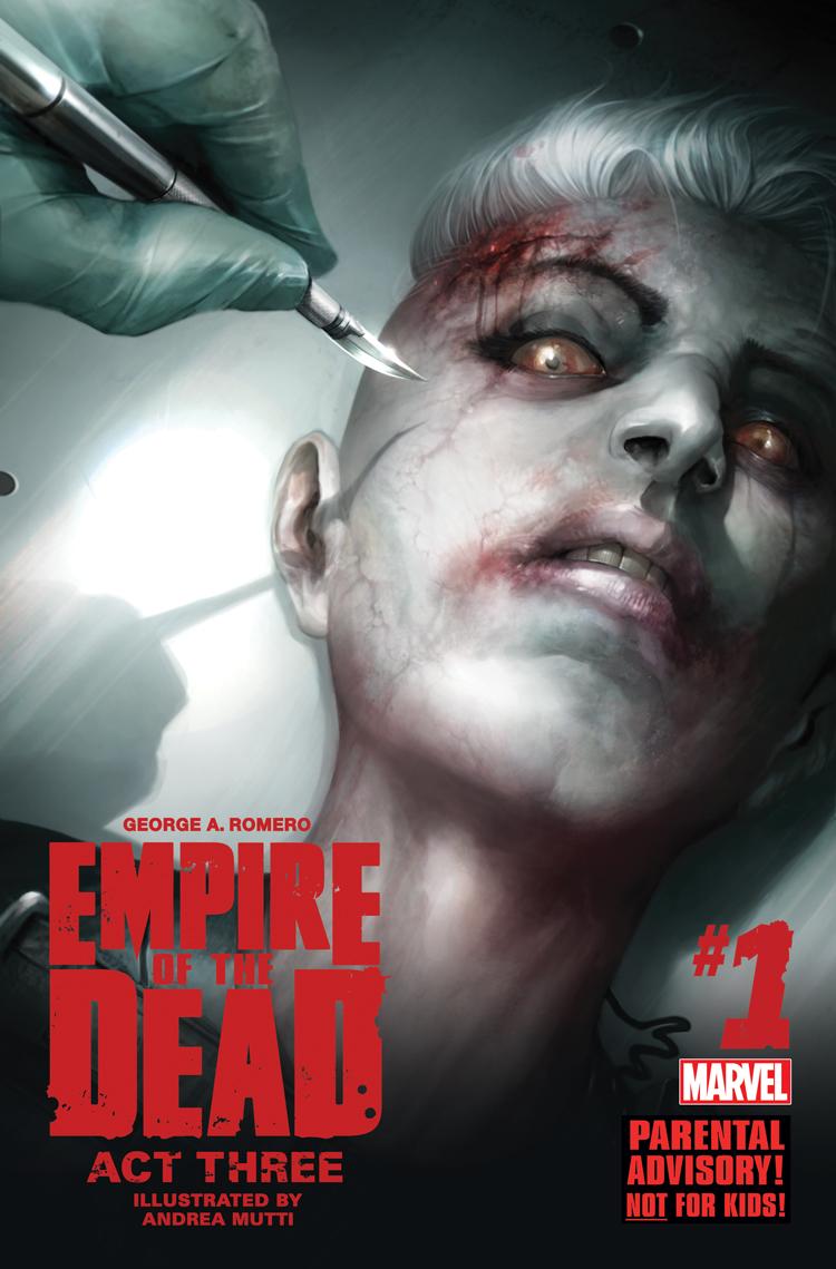 George Romero's Empire of the Dead: Act Three (2015) #1