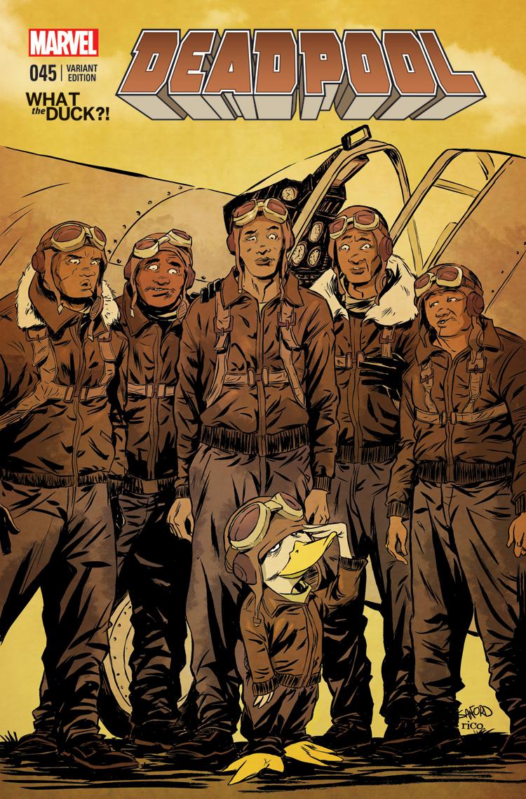 Deadpool (2012) #45 (Greene Wtd Variant)