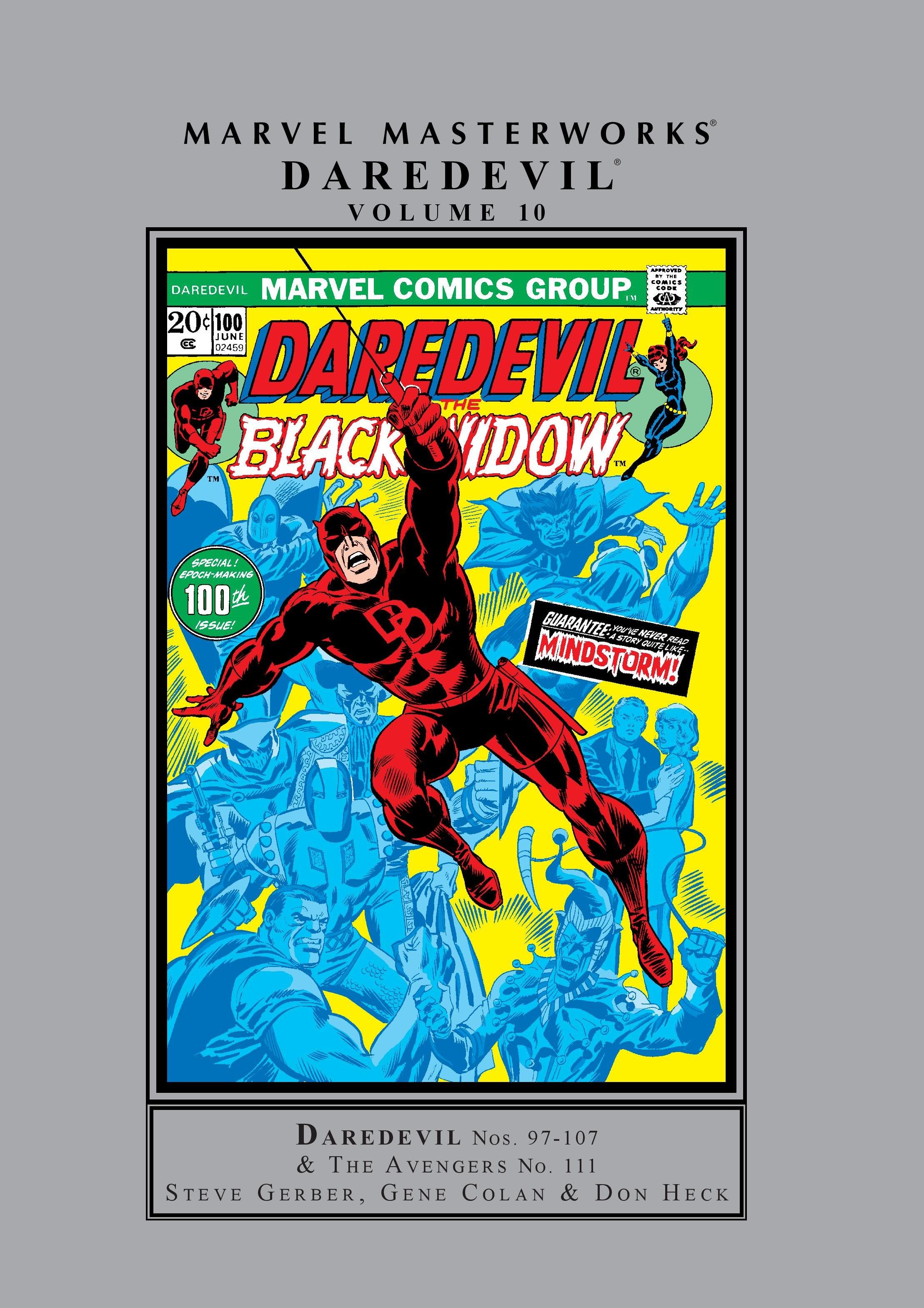 Marvel Masterworks: Daredevil Vol. 10 (Hardcover)