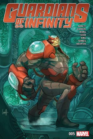 Guardians of Infinity (2015) #5