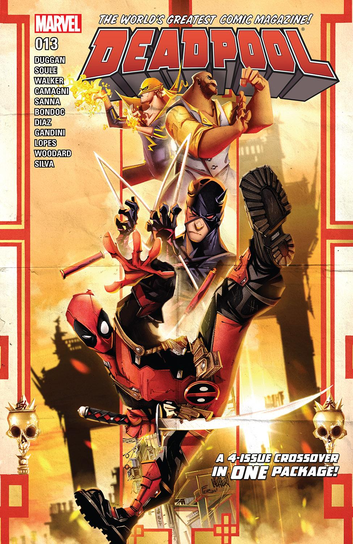 Deadpool (2015) #13