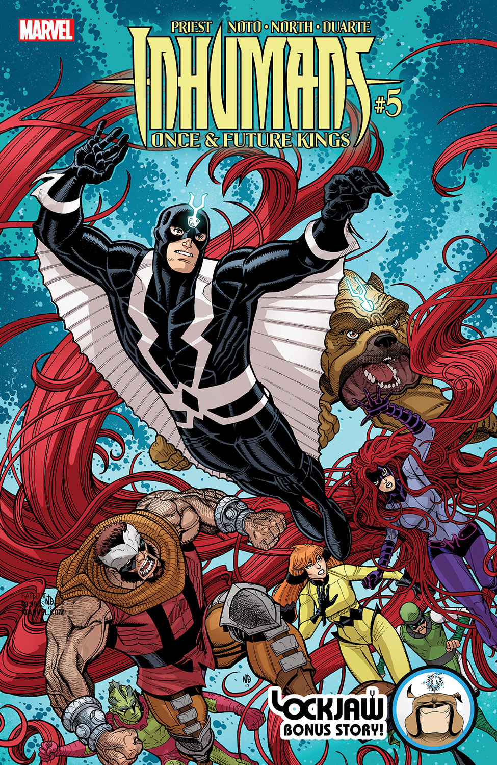 Inhumans: Once and Future Kings (2017) #5