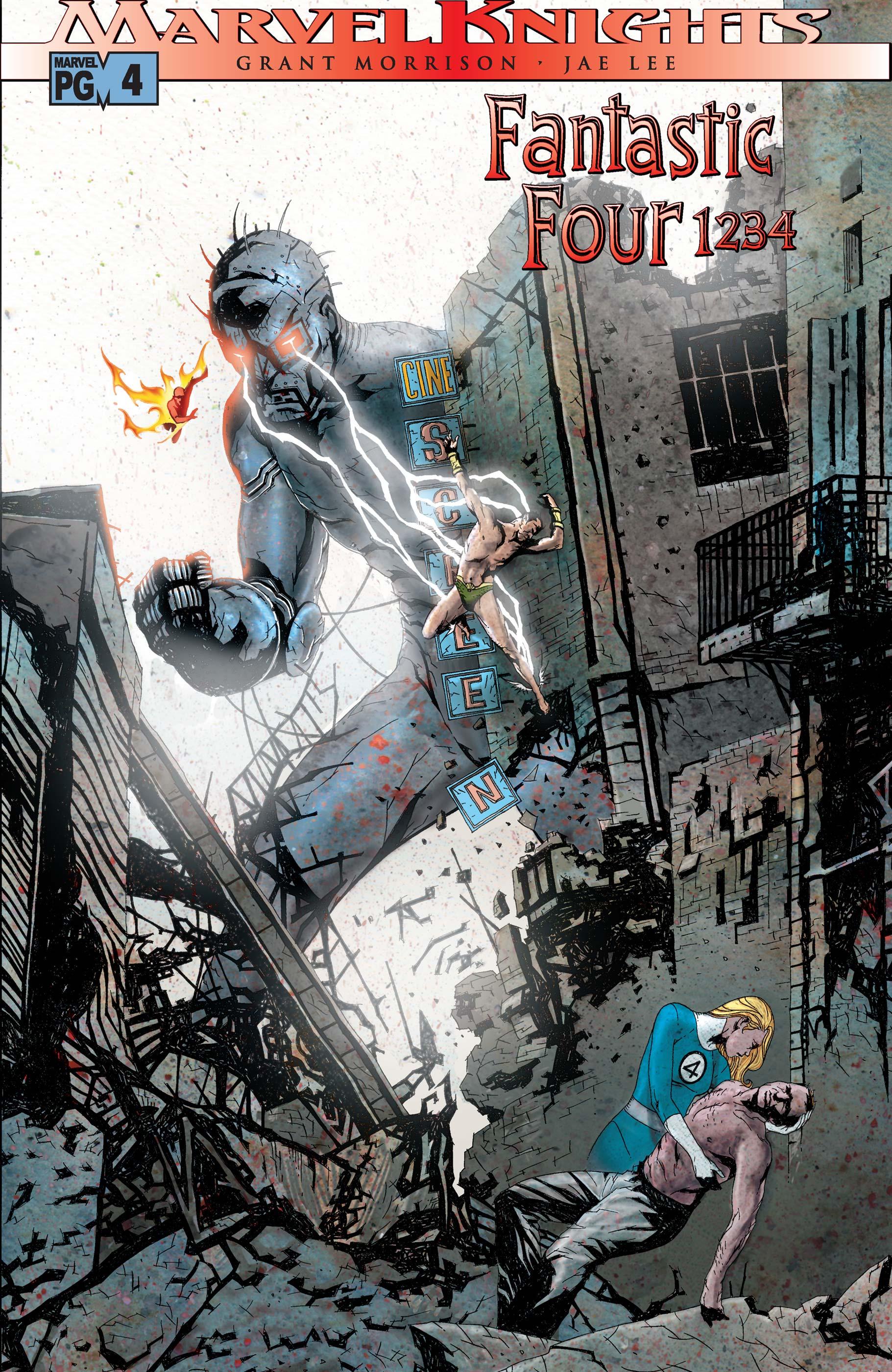Fantastic Four: 1234 (2001) #4