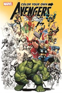 Color Your Own Avengers (Trade Paperback)
