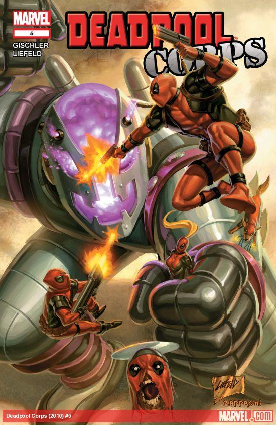 Deadpool Corps (2010) #5
