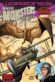 Where Monsters Dwell: The Phantom Eagle Flies The Savage Skies (Trade Paperback)