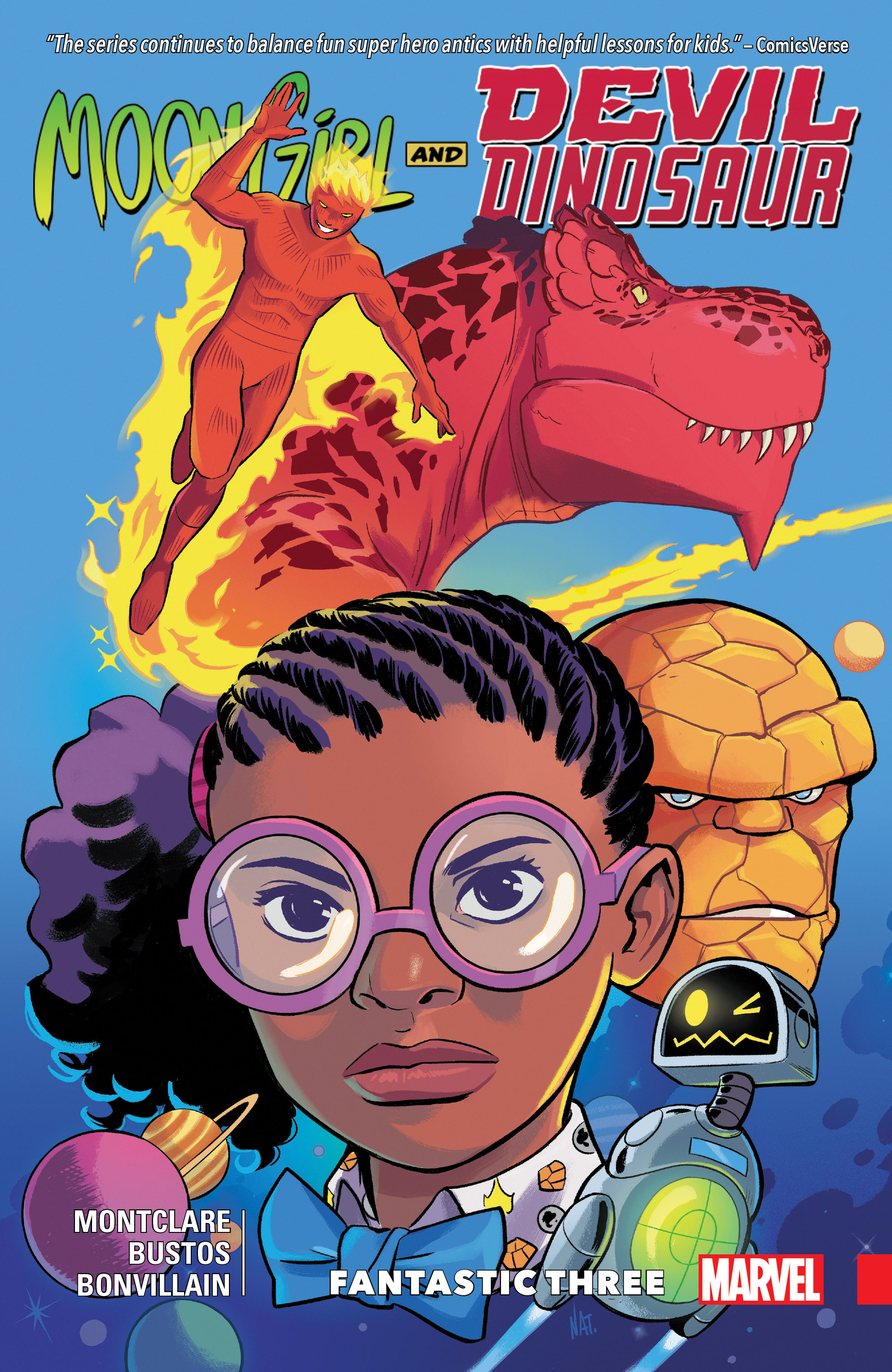 Moon Girl and Devil Dinosaur Vol. 5: Fantastic Three (Trade Paperback)