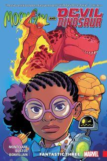 Moon Girl and Devil Dinosaur Vol. 5: Fantastic Three (Trade Paperback)