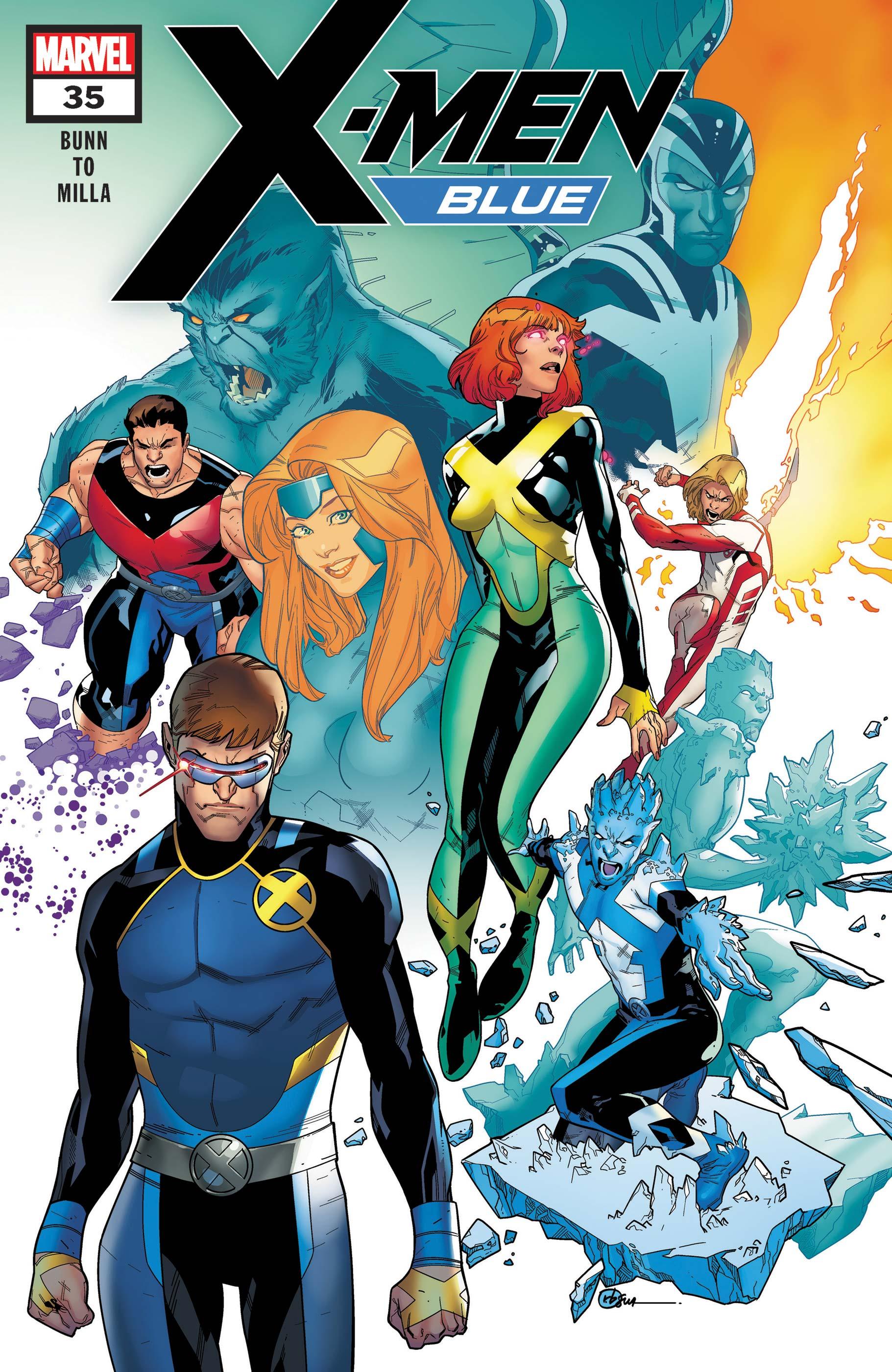 X-Men: Blue (2017) #35