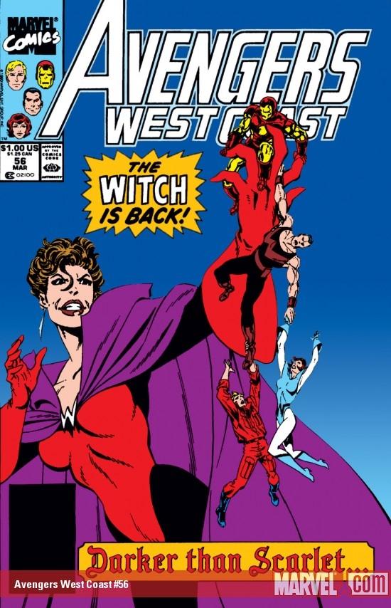 West Coast Avengers (1985) #56
