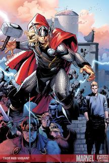 Thor (2007) #600 (DELL'OTTO WRAPAROUND VARIANT)