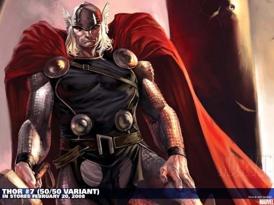 Thor #7 variant cover by Marko Djurdjevic