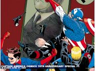 Captain America Comics 70th Anniversary Special (2009) #1 Wallpaper