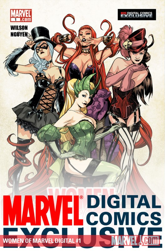 WOMEN OF MARVEL DIGITAL (2010) #1