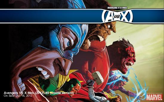 Avengers VS X-Men (2012) #8 (Opena Variant)