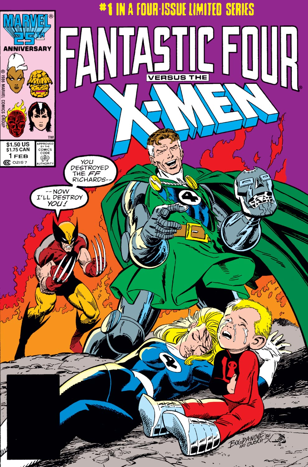 Fantastic Four Vs. X-Men (1987) #1