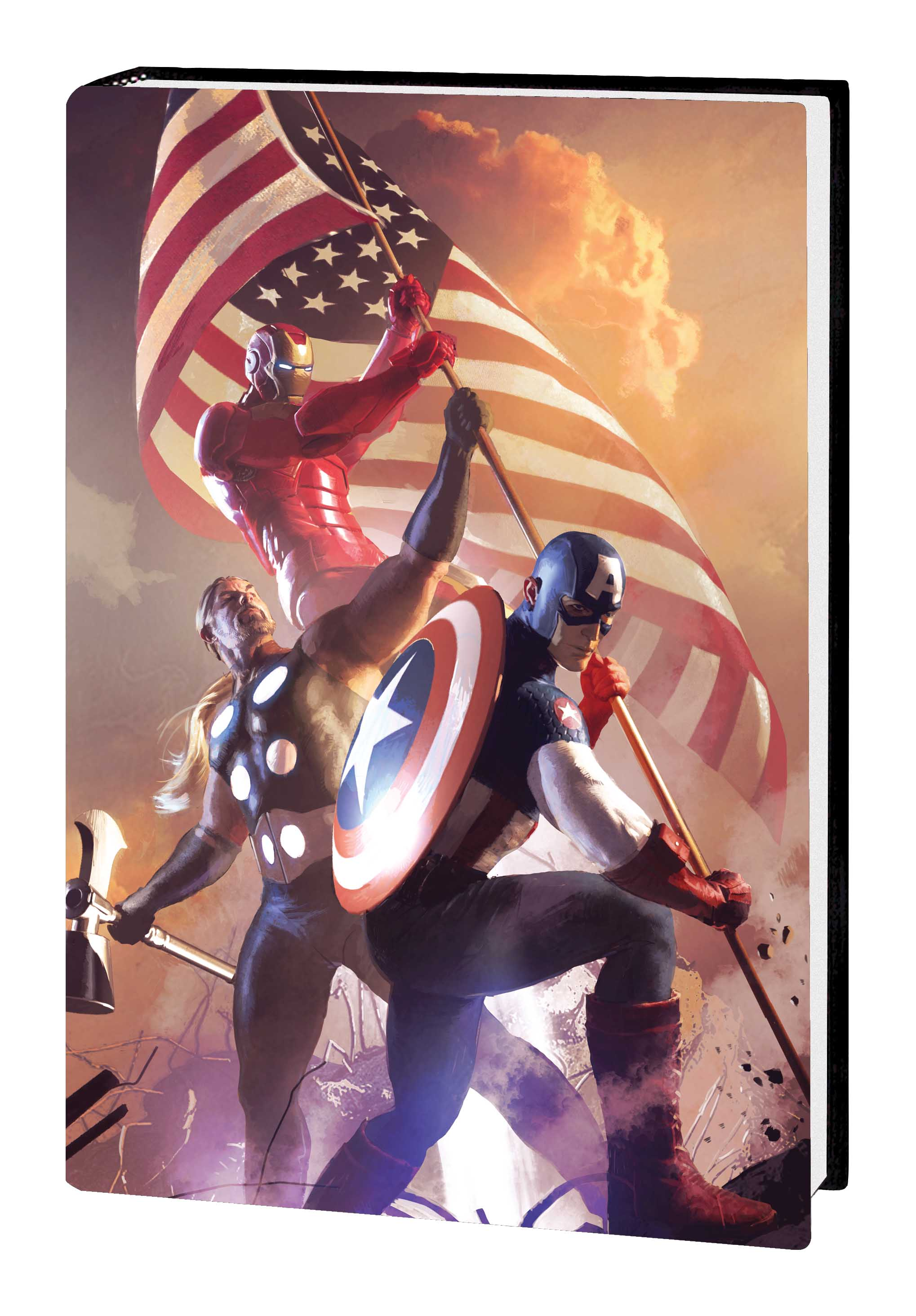 Ultimate Comics Divided We Fall, United We Stand (Hardcover)