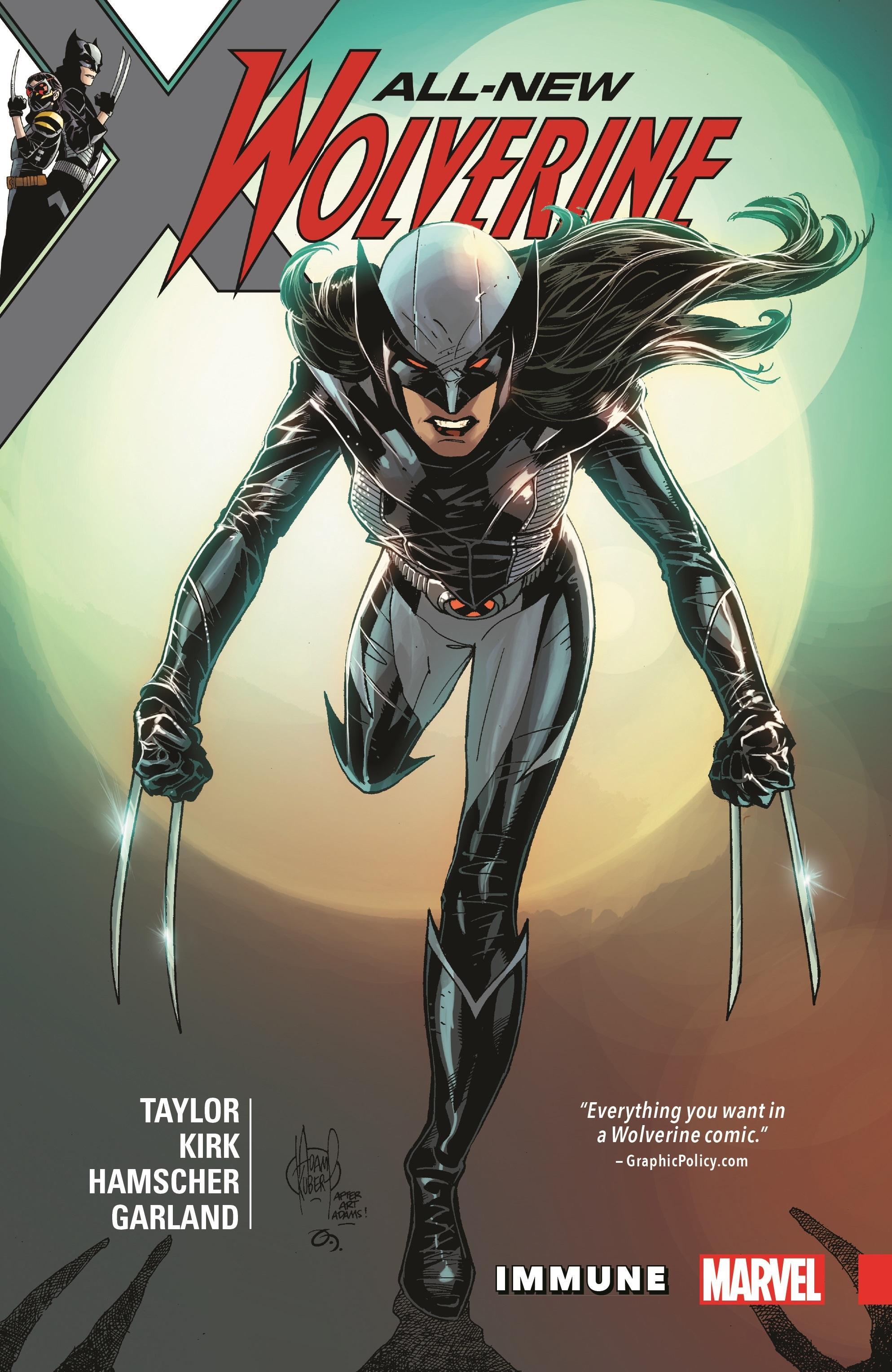 All-New Wolverine Vol. 4: Immune (Trade Paperback)