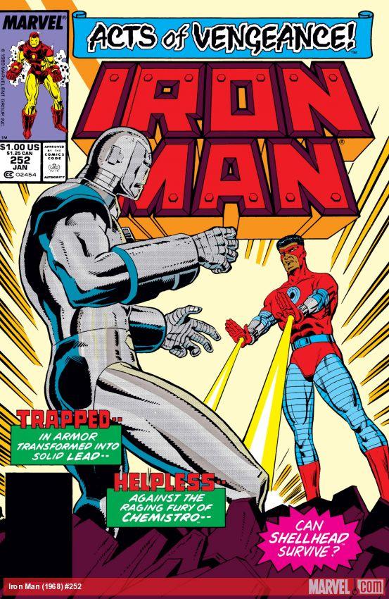 Iron Man (1968) #252