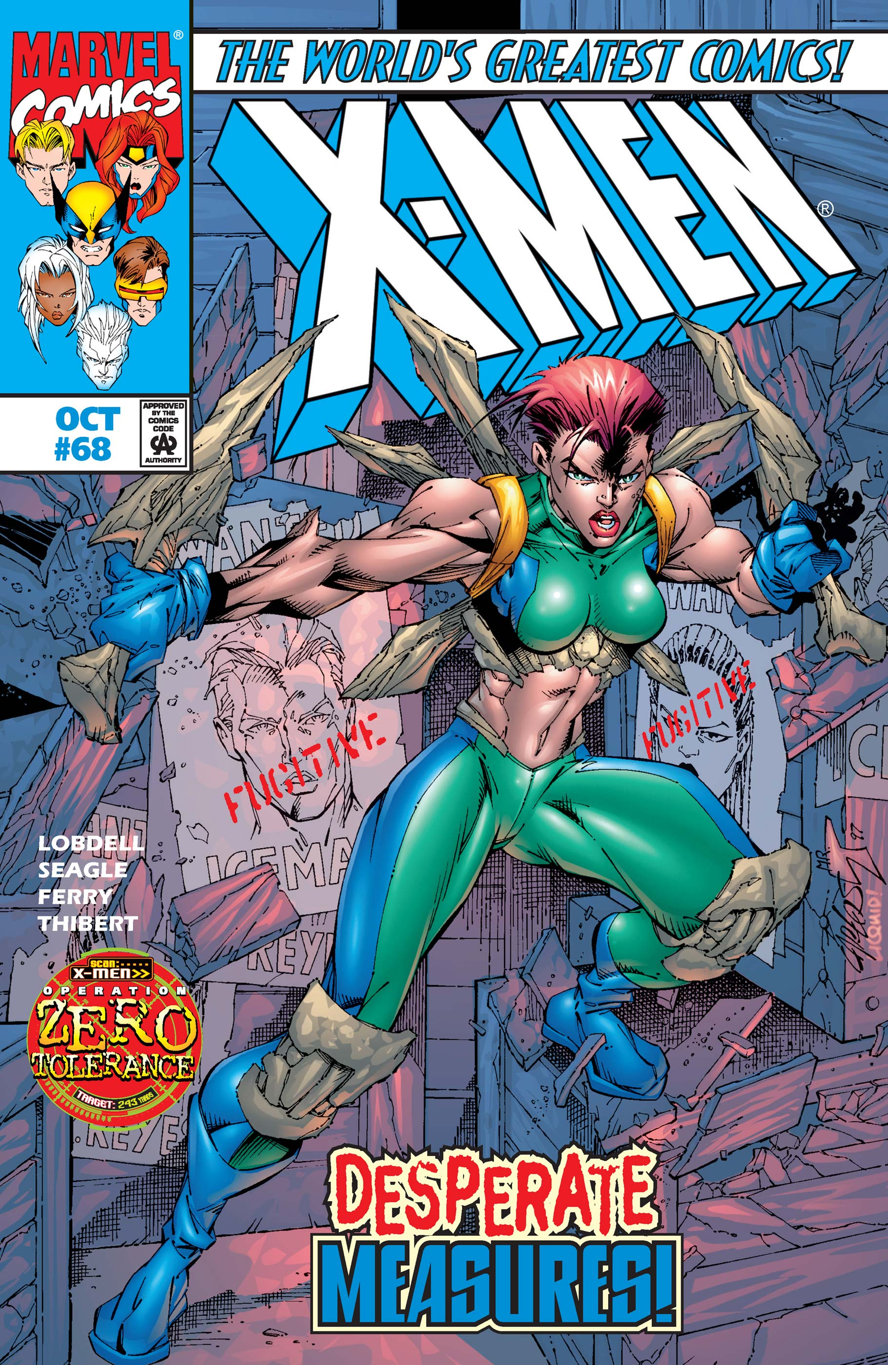 X-Men (1991) #68