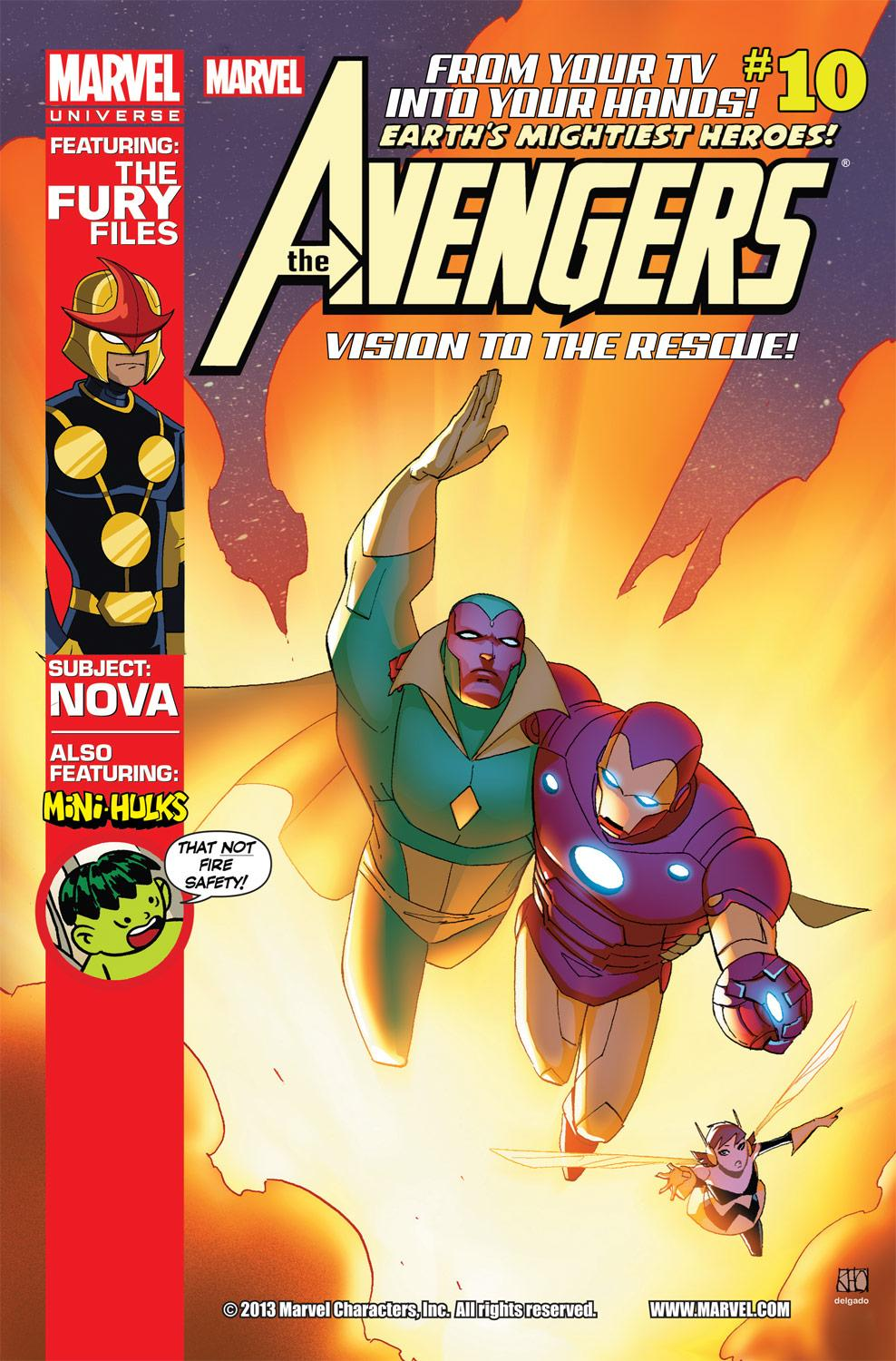 Marvel Universe Avengers: Earth's Mightiest Heroes (2012) #10