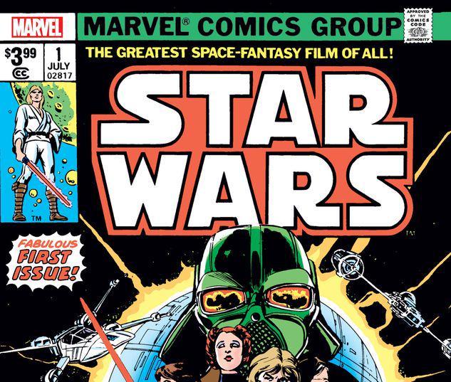 STAR WARS 1 FACSIMILE EDITION #1