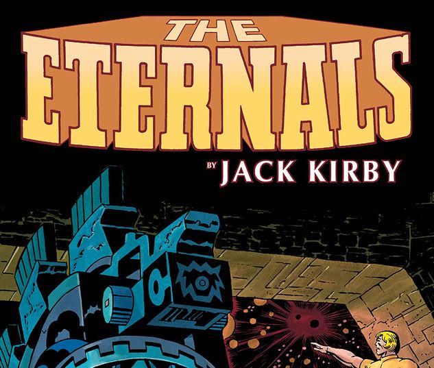ETERNALS BY JACK KIRBY: THE COMPLETE COLLECTION TPB REMASTERED COVER #1