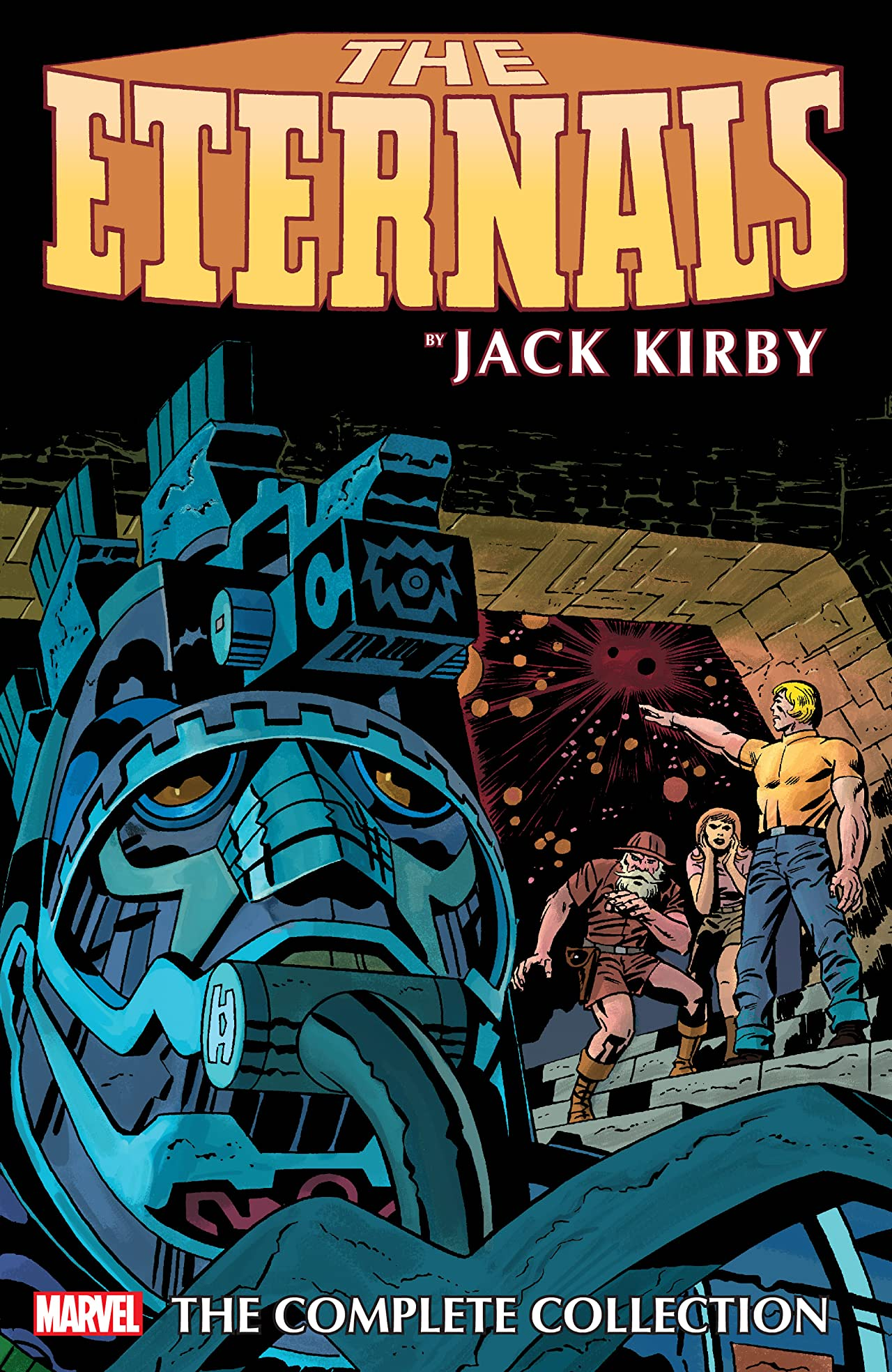 Eternals By Jack Kirby: The Complete Collection Remastered Cover (Trade Paperback)