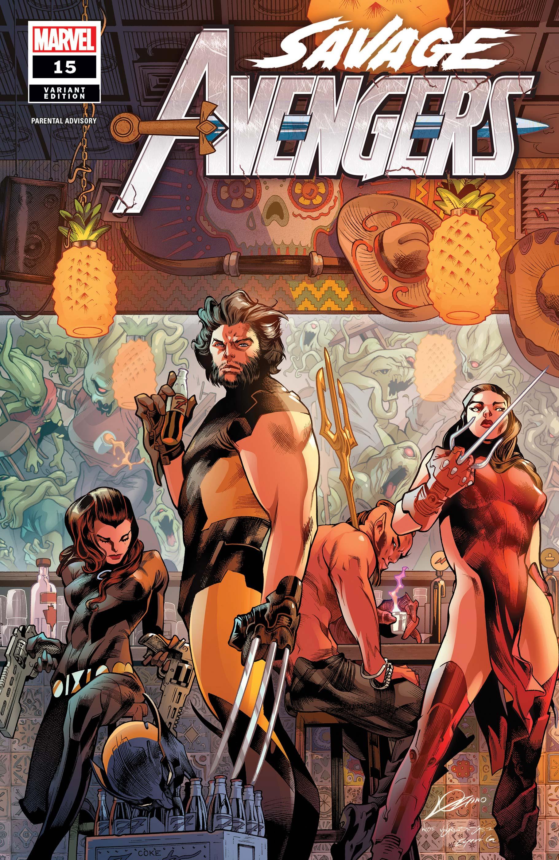 Savage Avengers (2019) #15 (Variant)