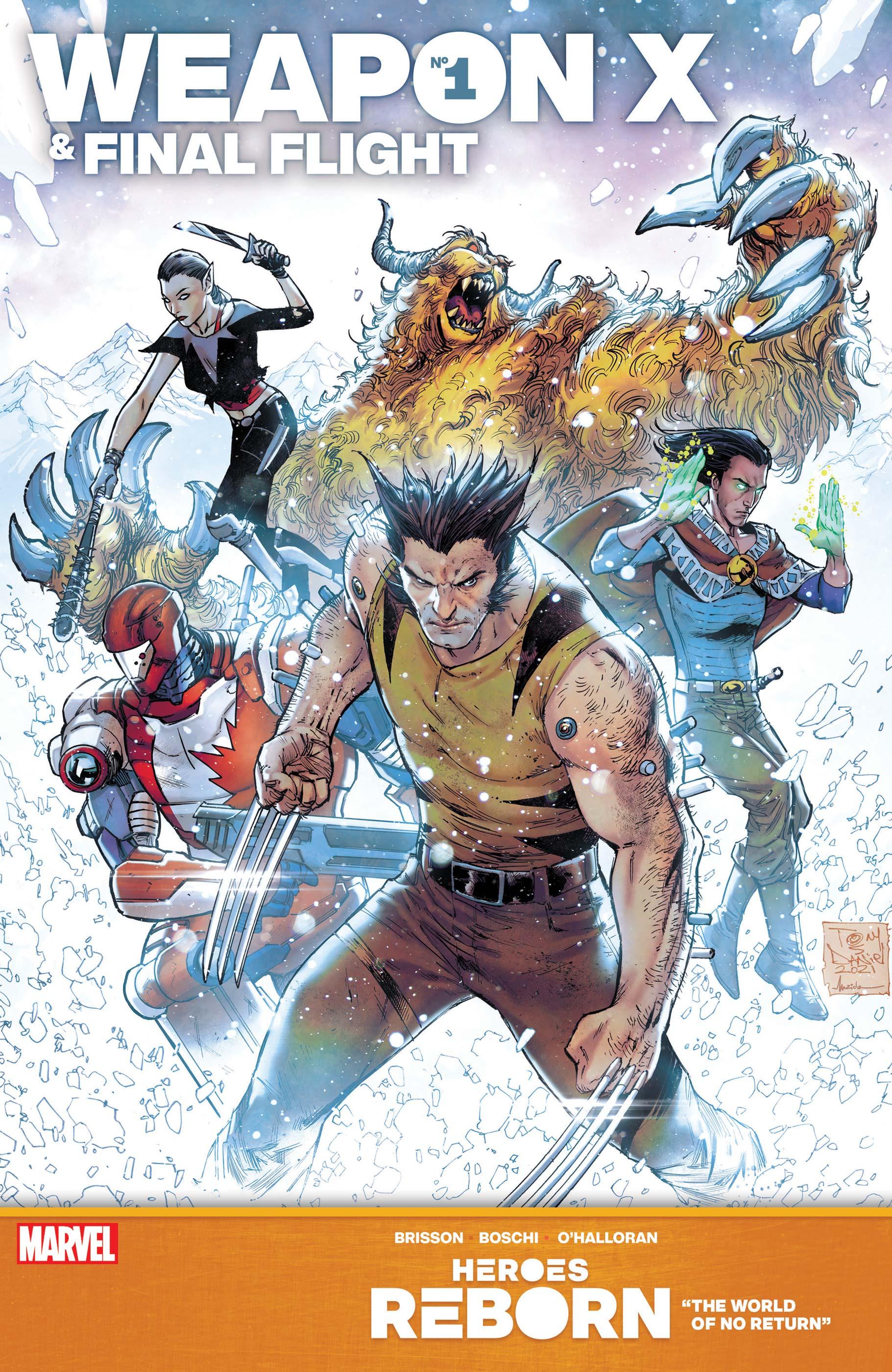 Heroes Reborn: Weapon X & Final Flight (2021) #1