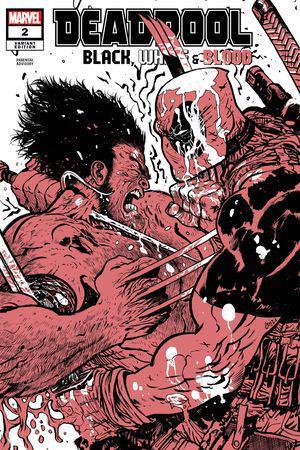 Deadpool: Black, White & Blood (2021) #2 (Variant)