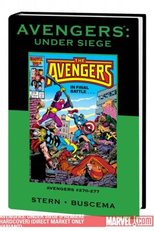 Avengers: Under Siege (Hardcover)