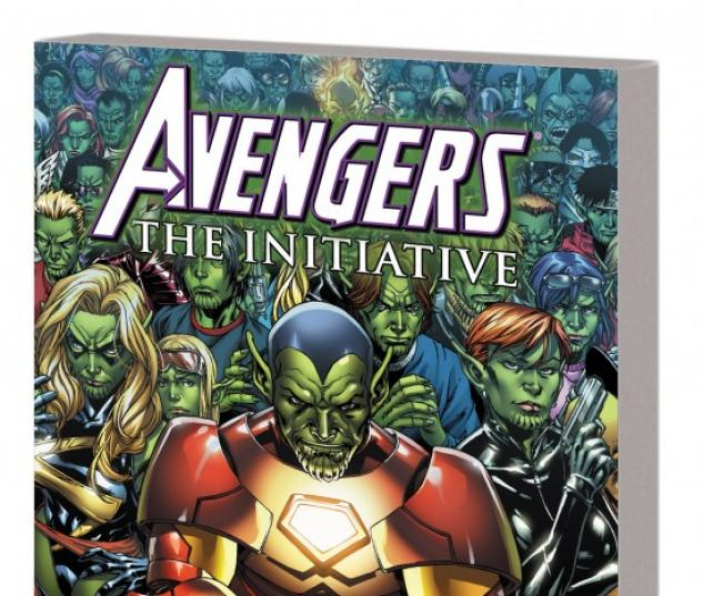AVENGERS: THE INITIATIVE VOL. 3 - SECRET INVASION TPB #1 (DM ONLY VARIANT)