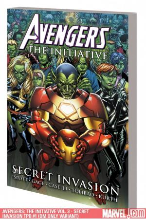 AVENGERS: THE INITIATIVE VOL. 3 - SECRET INVASION TPB [DM ONLY] (Trade Paperback)