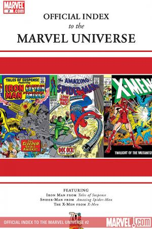 Official Index to the Marvel Universe #2