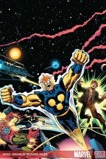 Nova: Origin of Richard Rider (2009) #1