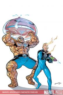Marvel Adventures Fantastic Four #39