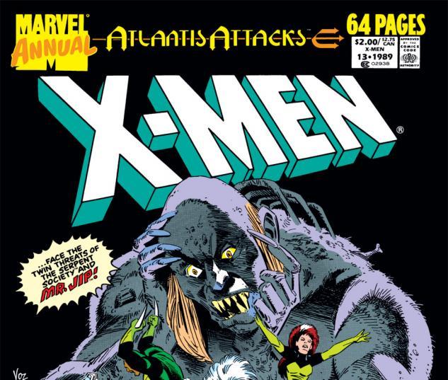 X-Men Annual (1970) #13 Cover