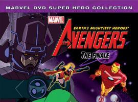 The Avengers: Earth's Mightiest Heroes! Volume 6 DVD box art
