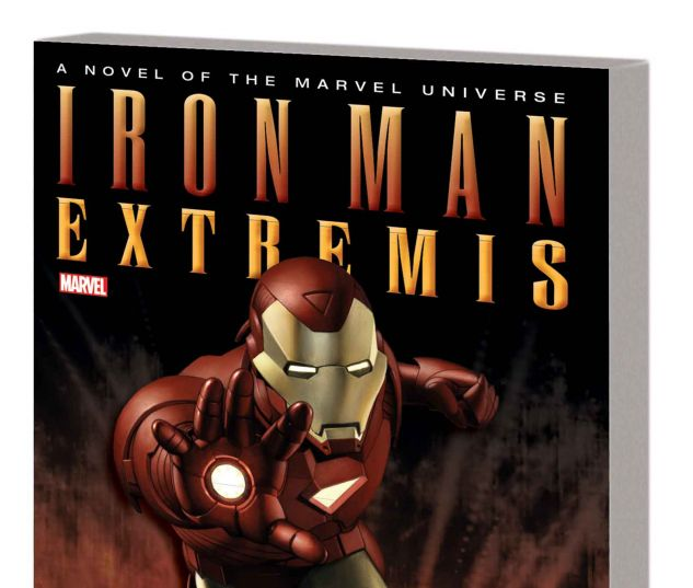 IRON MAN: EXTREMIS PROSE NOVEL MASS MARKET PAPERBACK