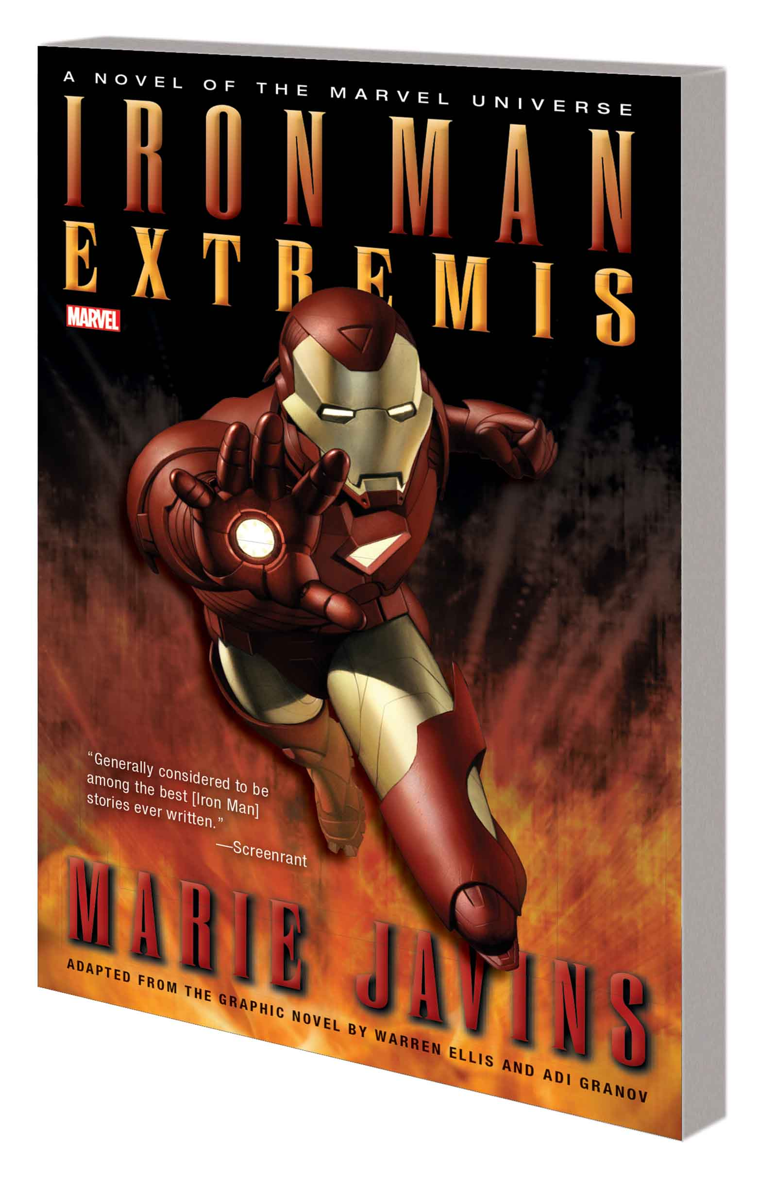 IRON MAN: EXTREMIS PROSE NOVEL MASS MARKET PAPERBACK (Trade Paperback)