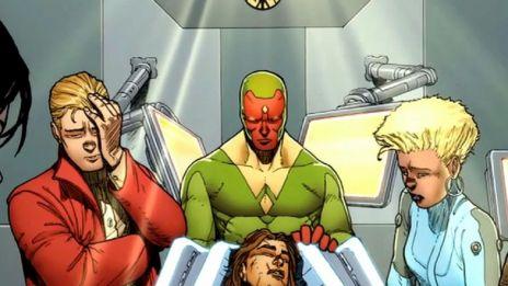 Marvel AR: Avengers A.I. #5 Cover Recap