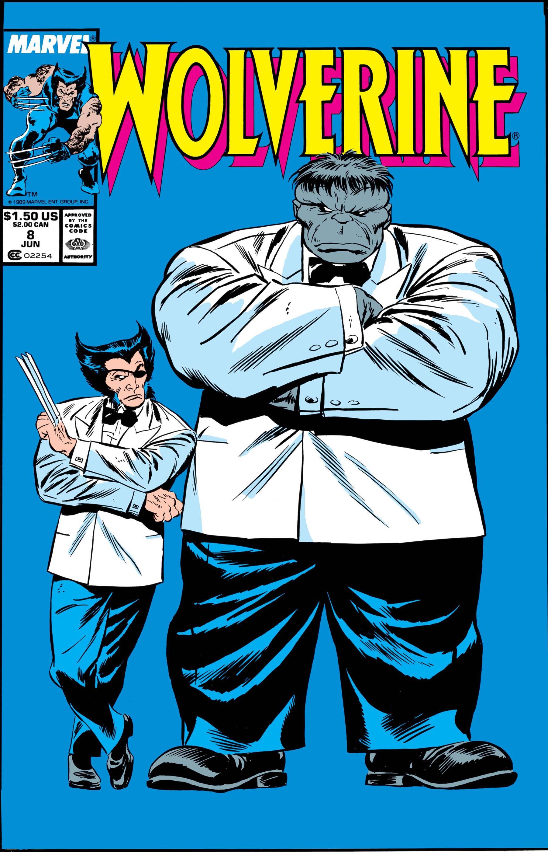 Wolverine (1988) #8